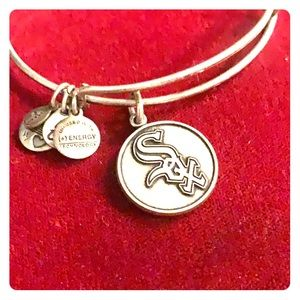 Alex and Ani Chicago White Sox bracelet